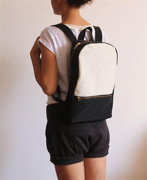Backpack Ac Milan Blackwhite milan backpack black and white backpack s by petrushkastudio
