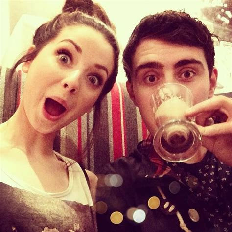 Or Zoella And Alfie Zoella And Alfie His Chocolate
