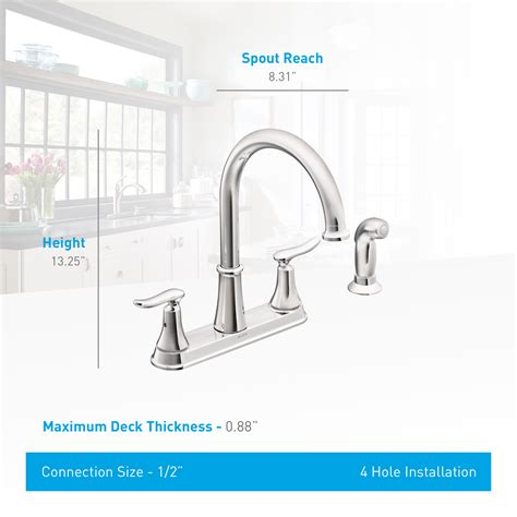moen solidad kitchen faucet moen ca87015csl classic stainless high arc kitchen faucet