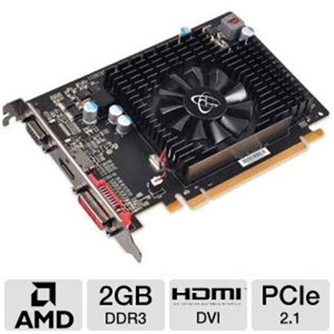 Vga Card Radeon Hd 6570 xfx radeon hd 6570 hd657xcnfv card 2gb ddr3 pci express 2 1 1x dual link dvi i 1x