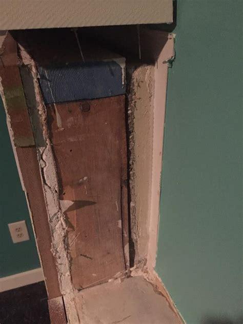 framing half wall in basement to wall exterior