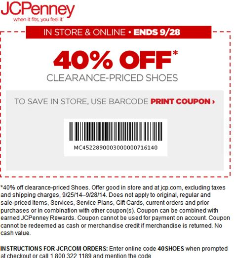 jcpenney outlet coupons printable jcpenney coupons get great discount