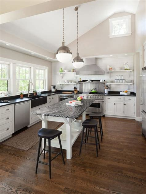 houzz kitchens with islands open kitchen island houzz