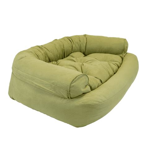 snoozer overstuffed luxury sofa microsuede fabric