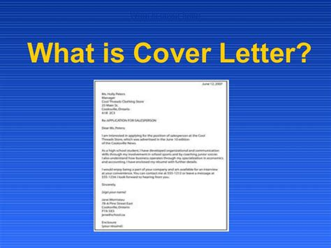 definition of a cover letter infobookmarks info