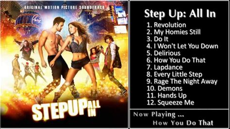 Kaset Dvd Step Up All In album step up all in ost 2014
