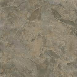 shop armstrong terraza 12 in x 12 in gray brown peel and stick slate finish vinyl tile at lowes com