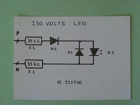 led diode na 220v es light emitting diode na 220v