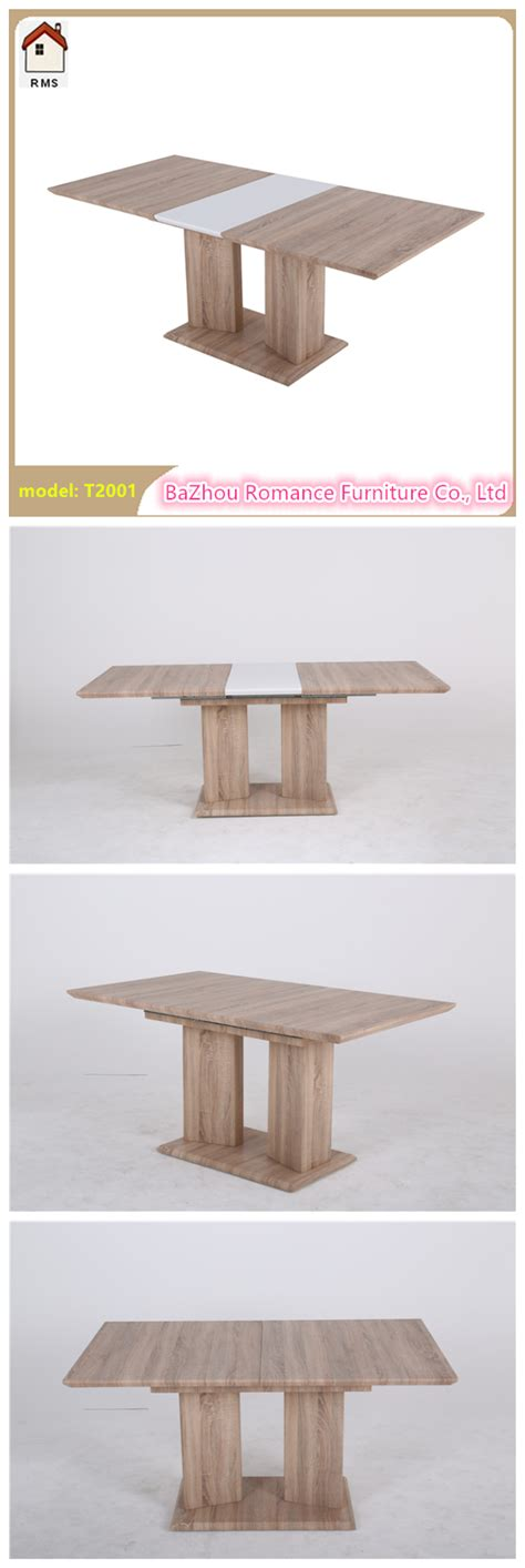 Mdf Dining Table New Extendable Mdf Wood Dining Table Wooden Dining Table T2001