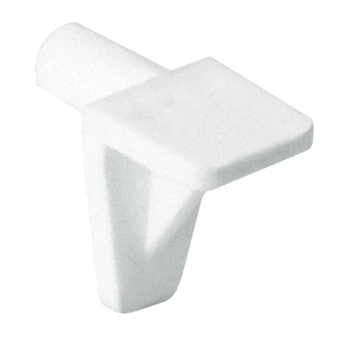 5mm Shelf Supports by Richelieu Shelf Support Plastic 5mm White The Home Depot