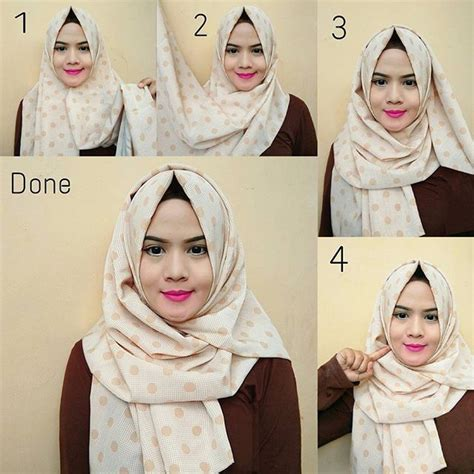 simple hijab pattern 201 best images about hijab tutorials on pinterest