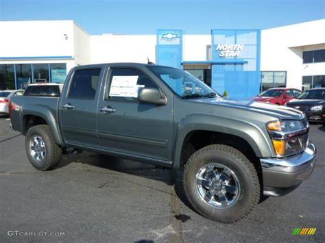 Chevy Colorado 2011 by 2011 Steel Green Metallic Chevrolet Colorado Lt Crew Cab