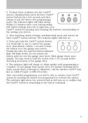 how to program 2010 lincoln mkz garage door opener 2010