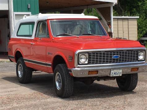 Californa Blazer 1972 chev k5 blazer beautifull california 4x4 deliver to