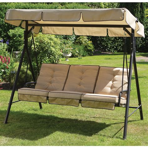 garden hammock swing carlton 3 seater swing hammock next day delivery carlton