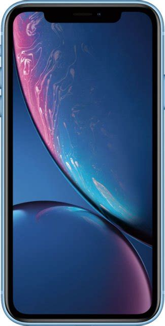 apple iphone xr 64gb blue at t mryx2ll a best buy