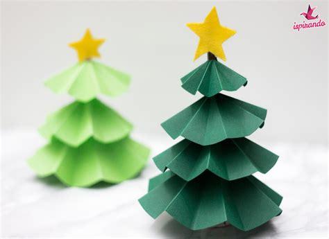 tutorial origami albero di natale graziosi alberi di natale origami realizzati con