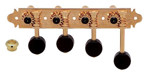 Dryer Kidal Gotoh Gold 4 String Bass Left Handed Tuning Machine gotoh mf 40 tuner for mandolin f style gold rall guitars