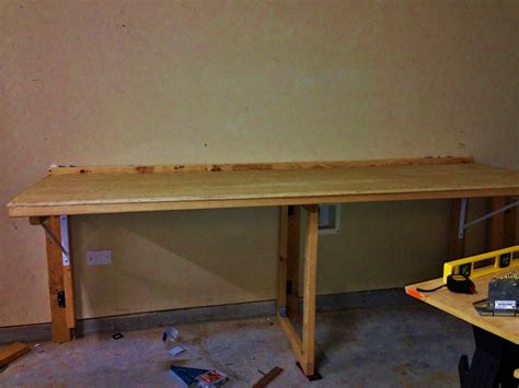 fold down work bench space saving fold down workbench finewoodworking
