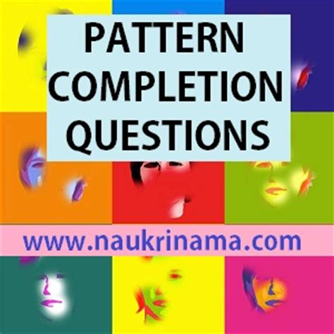 pattern quiz questions pattern completion questions quiz 1