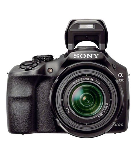 Kamera Dslr Sony A3000 Kit 18 55 Sony Alpha A3000 Digital With 18 55mm Lens Ilce3000kb Mtc Factory Outlet