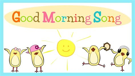 good morning song for kids with lyrics the singing