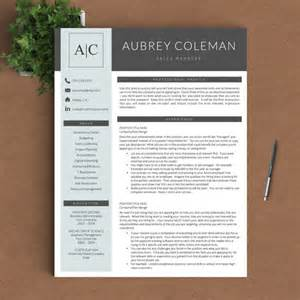 resume template with picture insert creative resume template for word and pages by