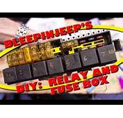 BleepinJeeps DIY Relay And Fuse Box  YouTube