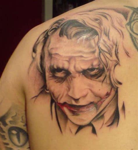 tattoo the joker heath ledger heath ledger the joker tattoo