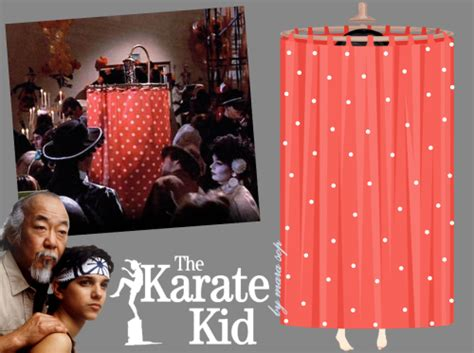 shower curtain costume karate kid fashion on line girls