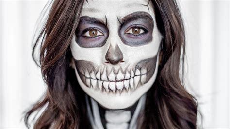 skeleton makeup martha stewart