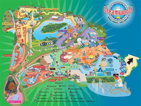 dreams and themes gold coast dreamworld buy cheap discount ticket passes rides map