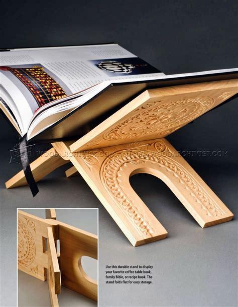 woodworking plans book make book stand woodarchivist