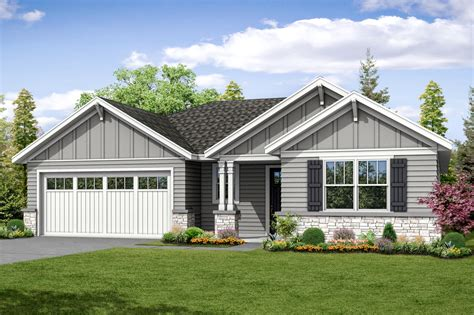 Ranch Style Bungalow ranch house plans flagstone 31 059 associated designs