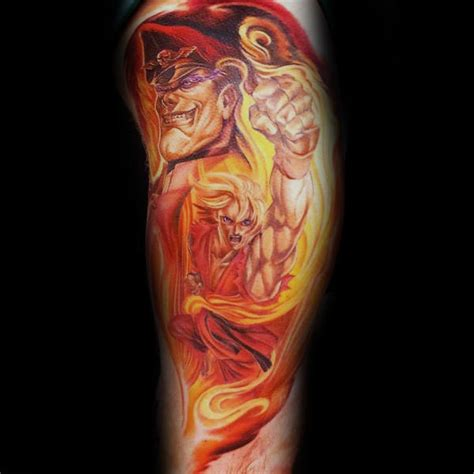 street fighter tattoo designs 43 popular fighter ideas stocks golfian
