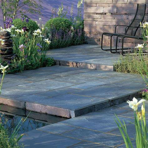 Slate For Patios Slabs by Stonemarket Paving Slate Truslate Blue Paving Slabs Mixed