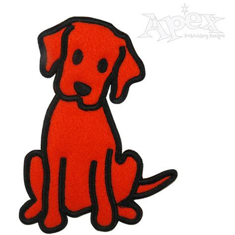 embroidery design dog puppy dog applique embroidery design