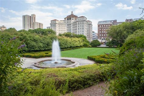 Central Garden City by Conservatory Garden The Official Guide To New York City