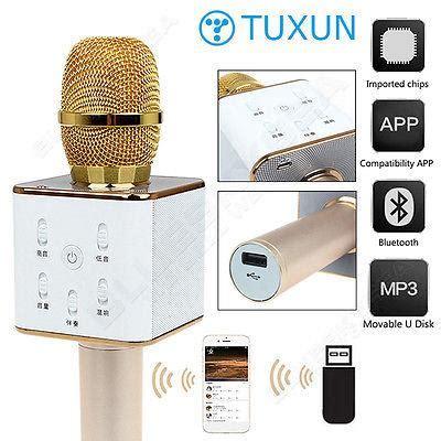 Mic Q7 Mic Wireless Mic Bluetooth Mic Ktv Free Pouch tuxun q7 wireless microphone ktv ka end 10 20 2017 6 19 pm