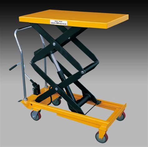 manual lift table scissor lift table movable manual in krishnagiri tamil nadu india afza material handling