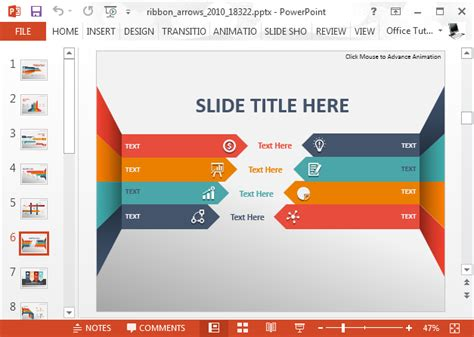comparision presentation powerpoint template animated