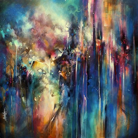large paintings edge of eden painting by michael lang