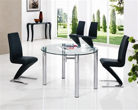 java extending glass table dining table and chairs