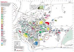 Washington State University Map by Campus Parking Map