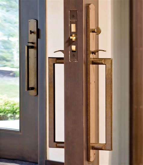 Exterior Door Sets Curved Entry Set 3 1 2 Quot X 26 Quot Entry Thumblatch Mortise Lock G505 Rocky Mountain Hardware