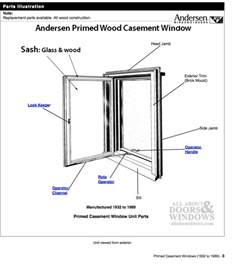 andersen primed casement window dual pane sash 1945 1974