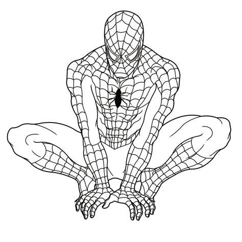 spiderman coloring pages print coloring page art