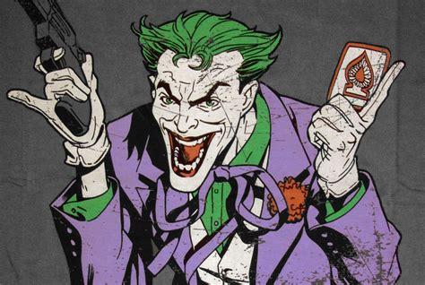 imagenes the joker comic batman the joker comic herren shirt joke is on you anthrazit