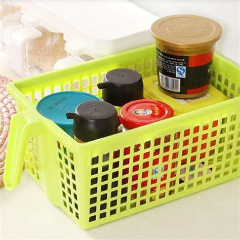 kitchen plastic storage kitchen storage basket plastic desktop kitchen storage