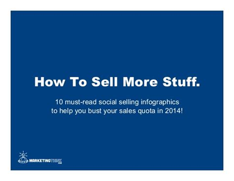 To Sell More Stuff by How To Sell More Stuff 10 Must Read Social Selling